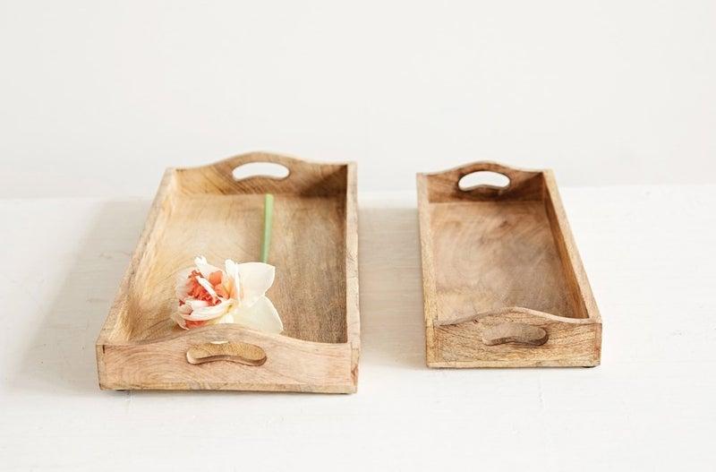 Mango Wood Trays, 2 sizes