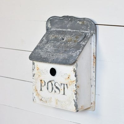 Metal Mail Box Bird House
