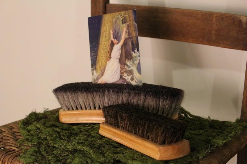 Vintage Mohawk Shoe Shine Brush