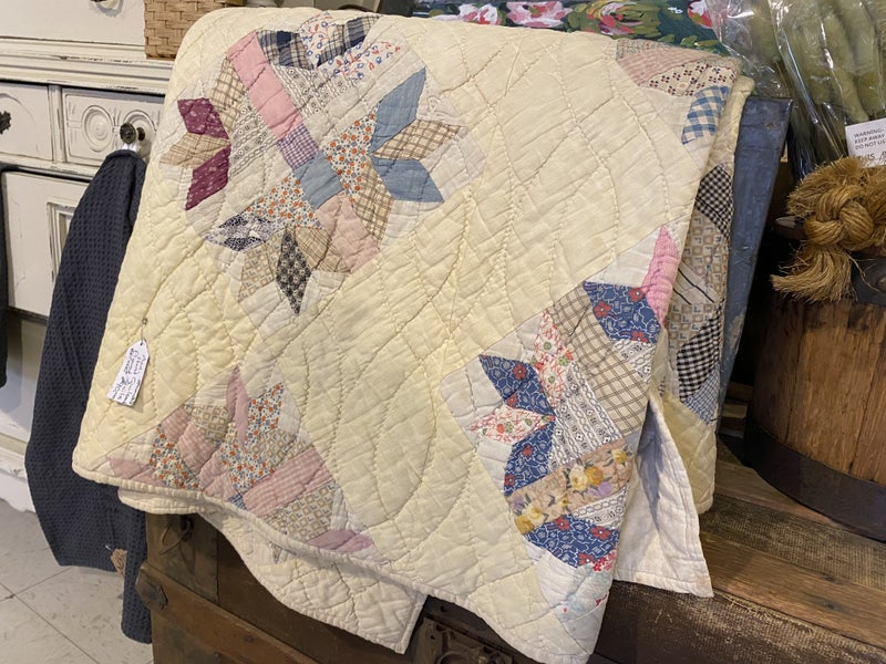 Quilt- hand stitched