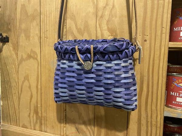 Handwoven Basket Cross Body bag