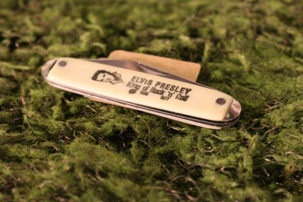 Elvis Presley Pocket Knife