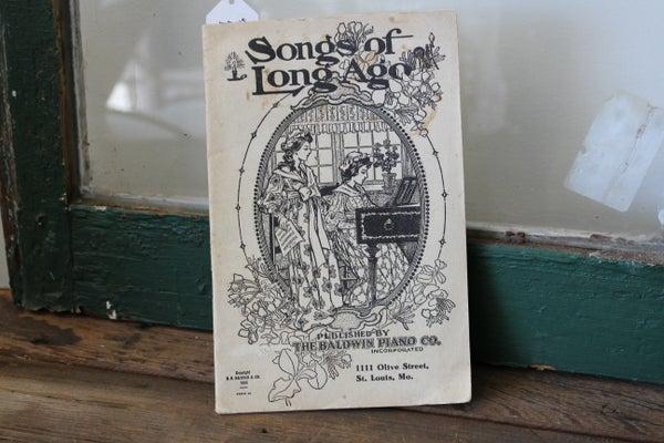 Songs of Long Ago