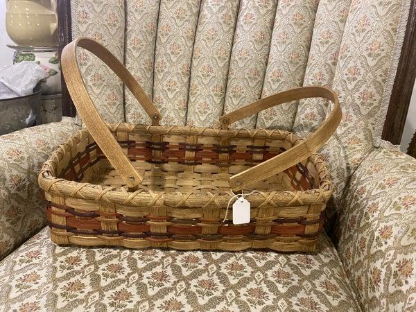Handwoven 9x13 carrying Basket