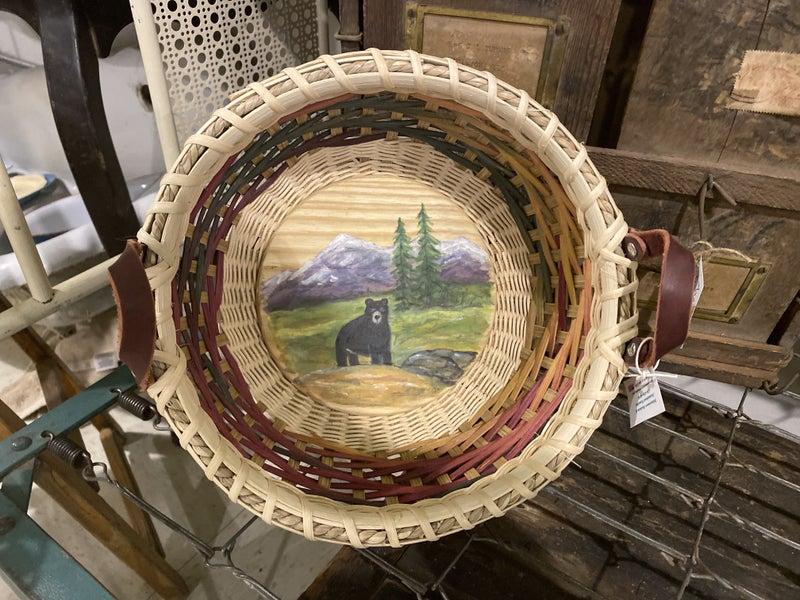Handwoven Bear Basket