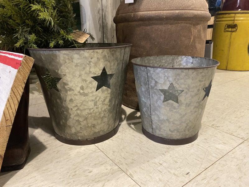Star Galvanized Bucket