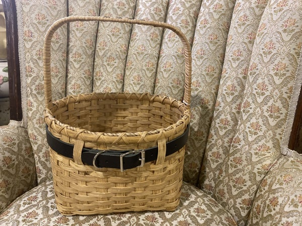 Handwoven Buckle Up Basket