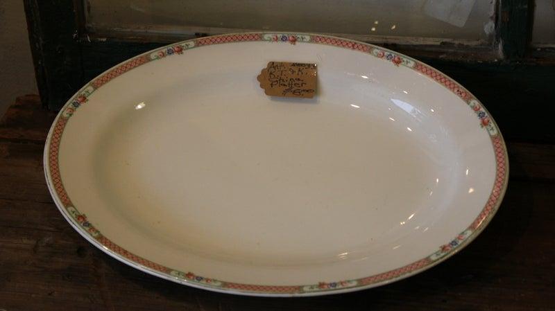 K.T.&K. China Platter
