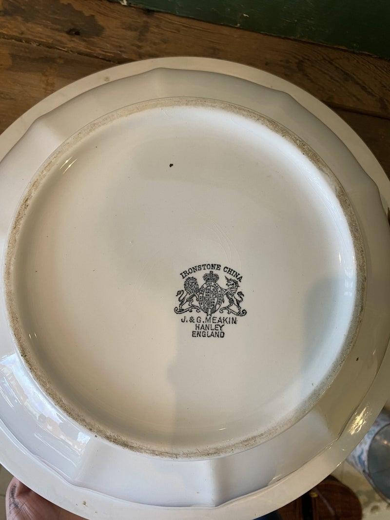 Ironstone Large Bowl