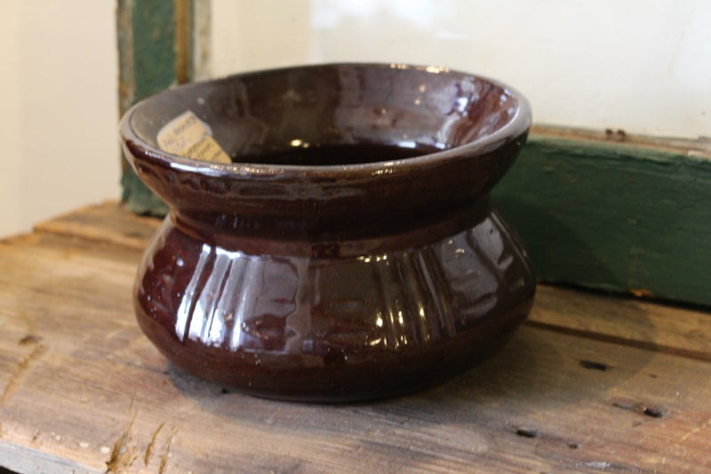 USA Stoneware Spittoon