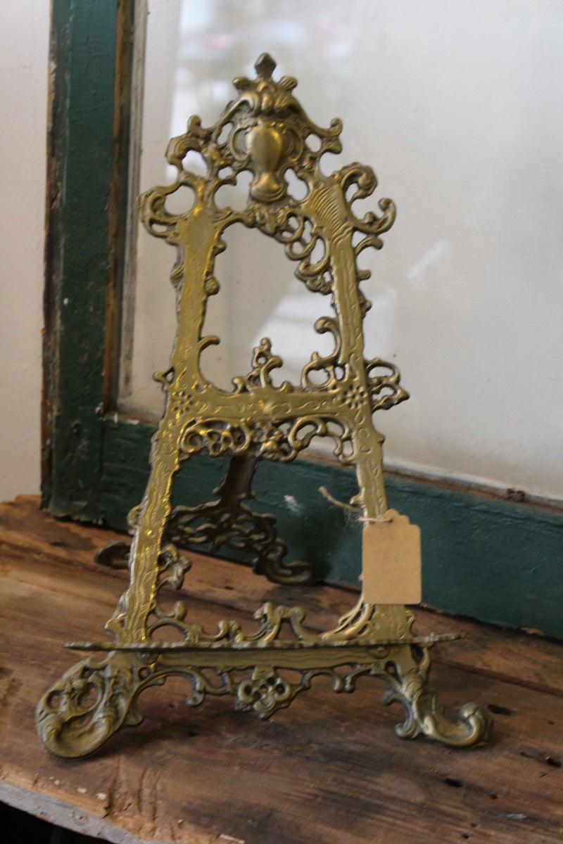 Brass Easel