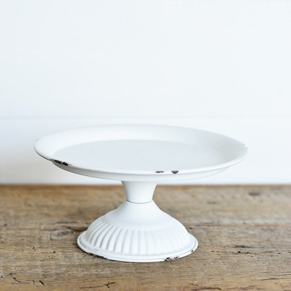 White Tin Riser