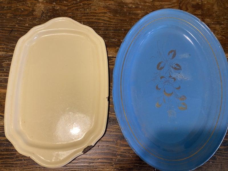 Enamel platters
