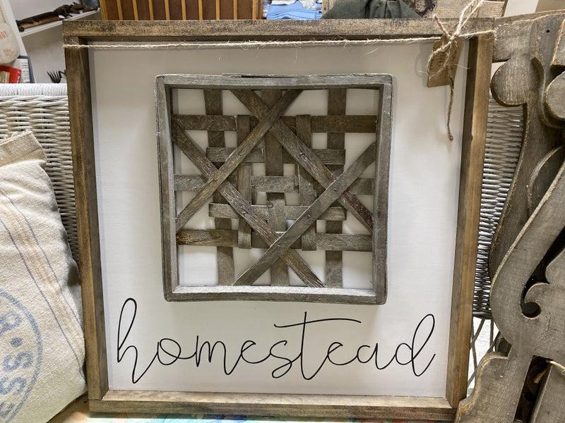 Simply Eden Acre sign- Homestead