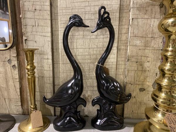 Set of bird Statues