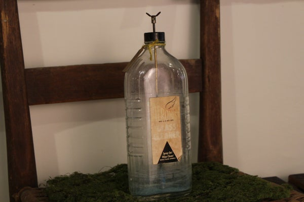 Vintage Aeromist Pump Glass Cleaner Bottle
