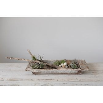 Distressed Finish Reclaimed Wood Tray