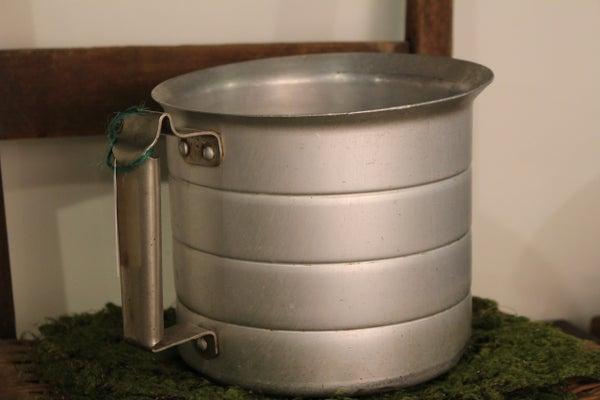 Large Tin Measuring Cup