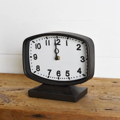 Retro Tin Clock