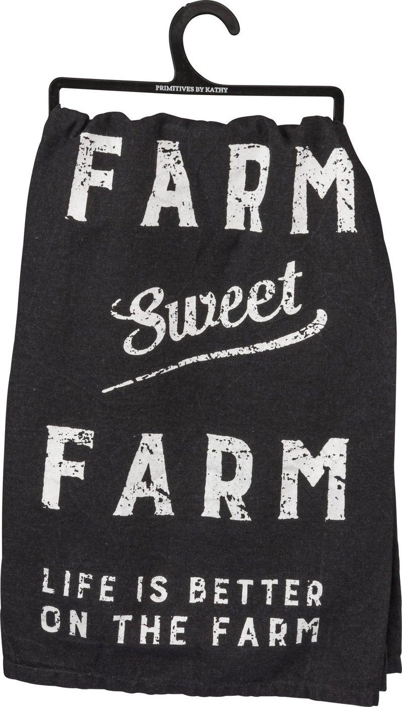 Sweet Farm Dish Towel