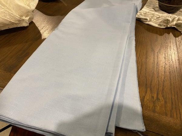 "Blue Tablecloth 58""x80"""