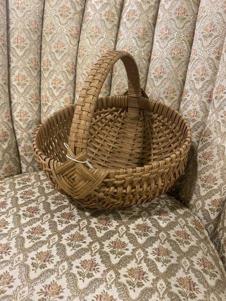 "Handwoven 10"" Egg Basket"