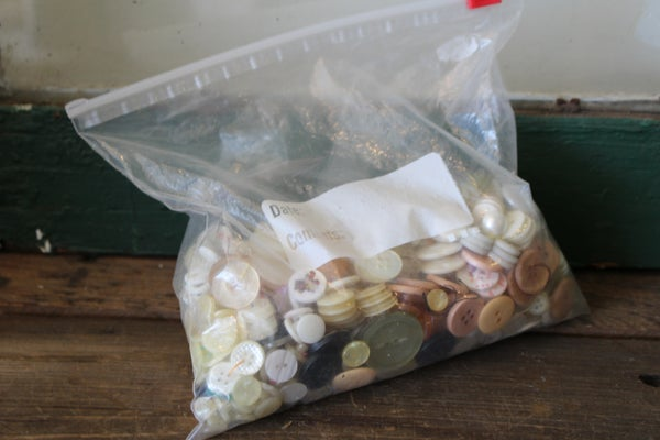 Bag of buttons