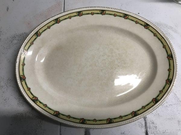 Crown ivory platter