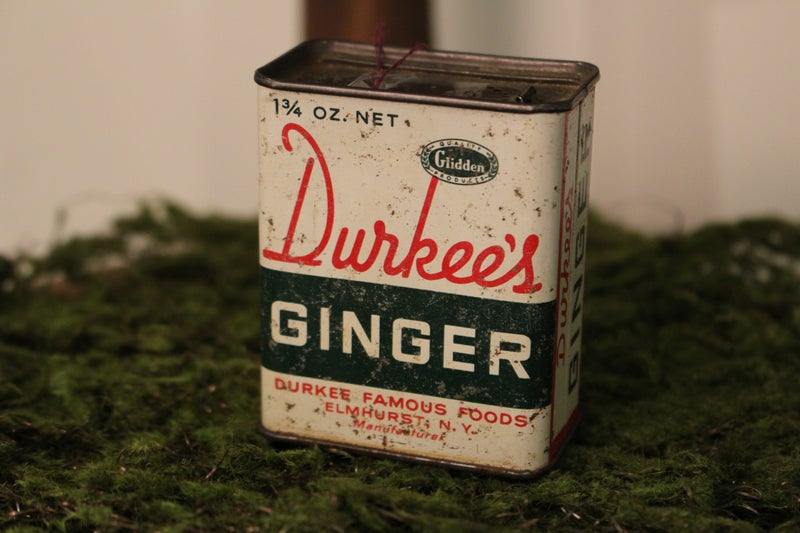 Durkee's Ginger Tin