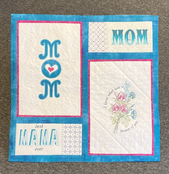 Play with Text - Virtual Class - Mom Wallhanging