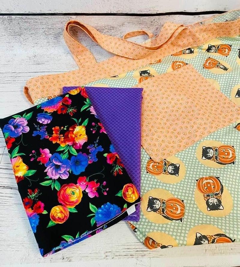 Kit: Simple Sack Flowers 2 (Need Pattern)