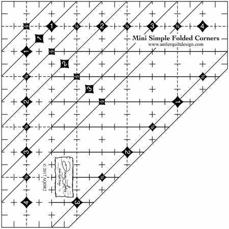 Mini Simple Folded Corner Ruler