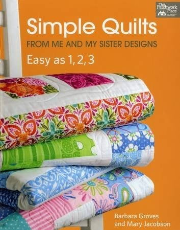 Book:  Simple Quilts Me & My Sister *Final Sale*