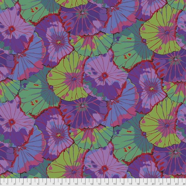 Kaffe Wideback - Lotus Leaf Purple - One Yard Cut