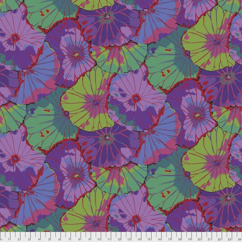 Kaffe Wideback - Lotus Leaf Purple - One Yard Cut