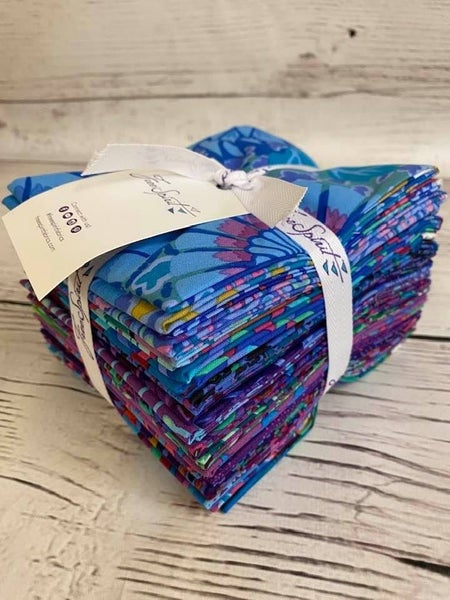 Fat Quarter Bundle:  (20 Fats) Kaffe Peacock