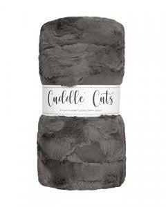 Two Yard Cut Cuddle -Charcoal