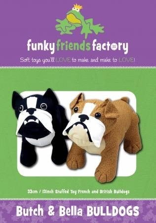 Pattern:  Butch & Bella Bulldogs