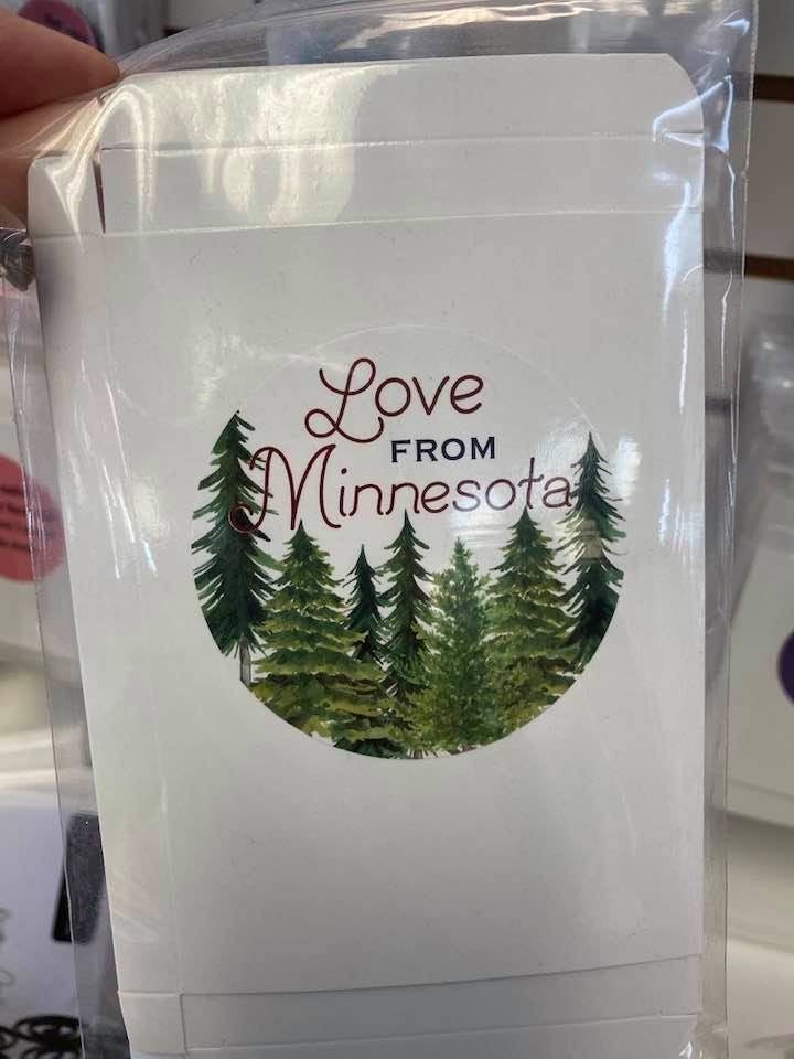Fat Quarter Card Love Minnesota