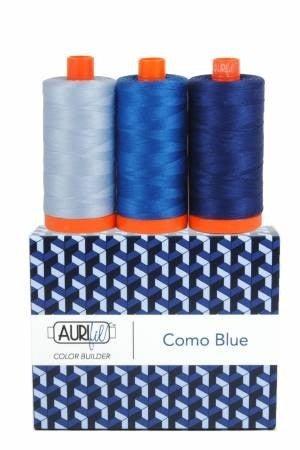 Aurifil Color Builder Como Blue