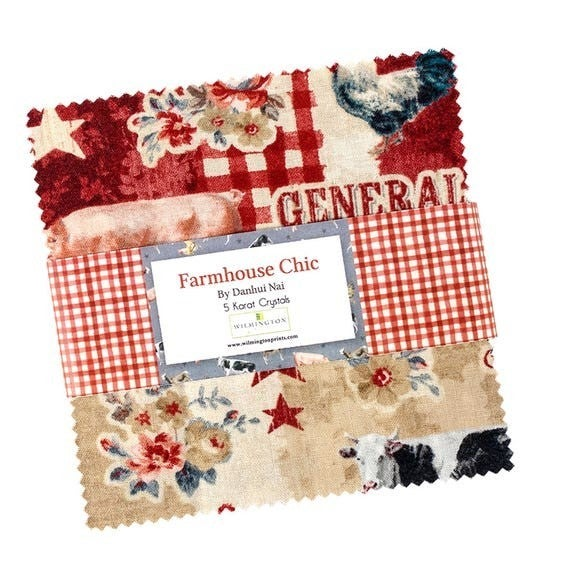 Farmhouse Chic Charm Pack by Wilmington