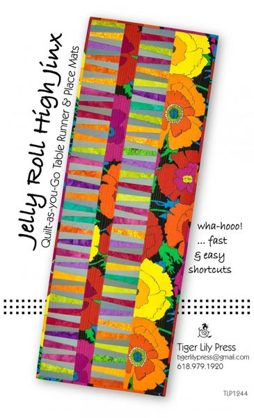 Pattern:  Jelly Roll Highjinx *Final Sale*