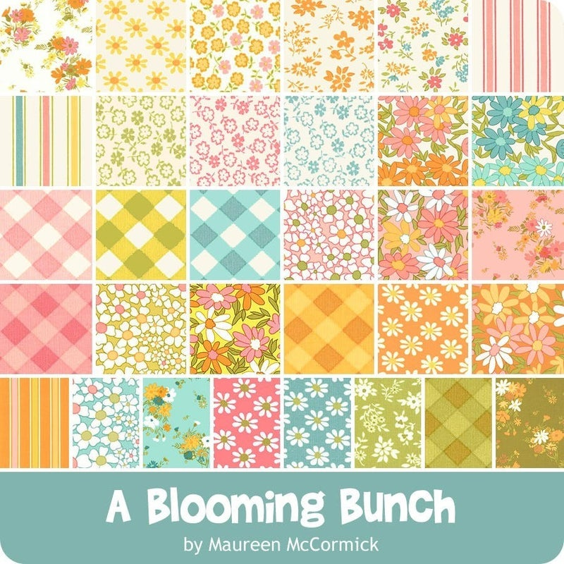 """A Blooming Bunch Charm Pack 5"""""""