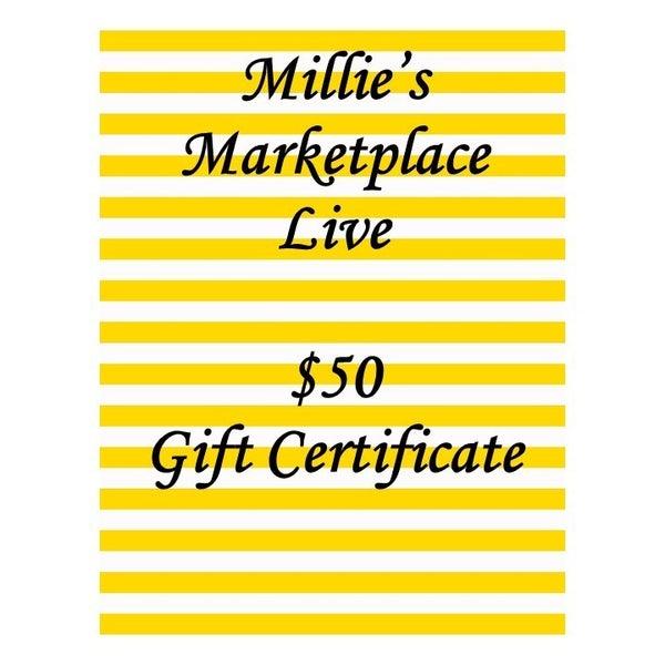 $50 Gift Certificate MML