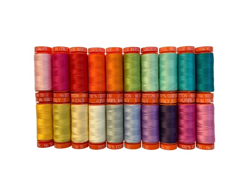 Pre-Order Tula Pink Curiouser Thread Collection 50 wt. (20) Sm. Spools (mid-April)