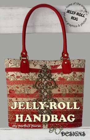 Pattern:  Jelly Roll Handbag *Final Sale*