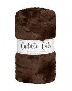 Two Yard Cut Cuddle Hide Chocolate