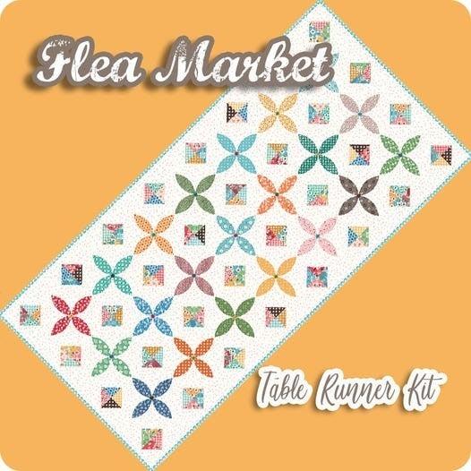 """Kit:  Riley Blake Flea Market Table Runner 30"""" x 62"""""""