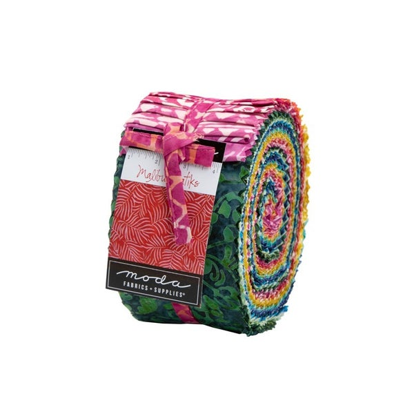 Moda Malibu Batik Jelly Roll
