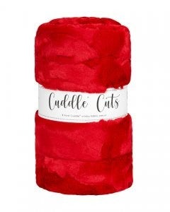 Two Yard Cut Cuddle - Cardinal/Red